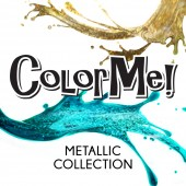 ColorMe! Gel-Lak Metallic Kolekcija 12 ml