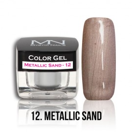 Color Gel - no.12. - Metallic Sand