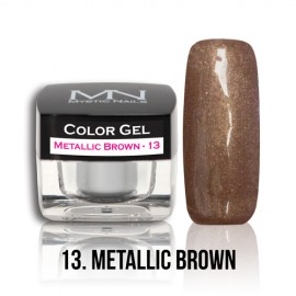 Color Gel - no.13. - Metallic Brown