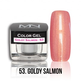 Color Gel - no.53. - Goldy Salmon