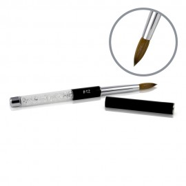 Kolinsky Black Glamour Sculpting Brush - #12