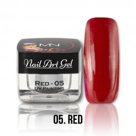 UV Painting Nail Art Gel - 05 - Red - 4g