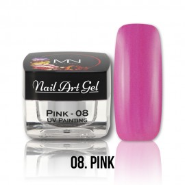 UV Painting Nail Art Gel - 08 - Pink - 4g