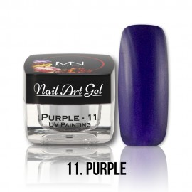 UV Painting Nail Art Gel - 11 - Purple - 4g