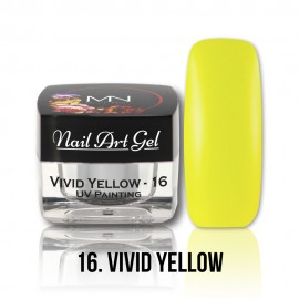 UV Painting Nail Art Gel - 16 - Vivid Yellow - 4g