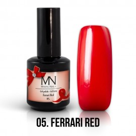 Gel Polish no.05. - Ferrari Red 12 ml