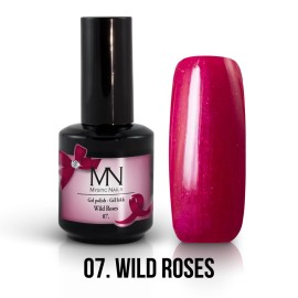 Gel Polish no.07. - Wild Roses - 12 ml