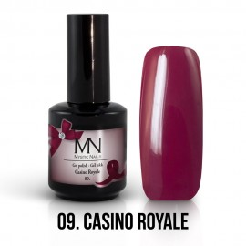 Gel Polish no.09. - Casino Royale 12 ml