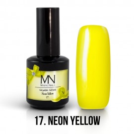 Gel Polish no.17. - Neon Yellow12 ml