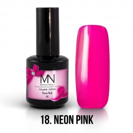Gel Polish no.18. - Neon Pink 12 ml