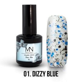 Gel Polish Dizzy no.01. - Dizzy Blue 12 ml