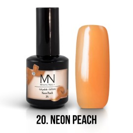 Gel Polish no.20. - Neon Peach 12 ml