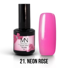 Gel Polish no.21. - Neon Rose 12 ml