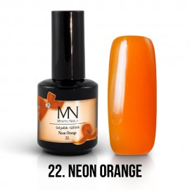 Gel Polish no.22. - Neon Orange 12 ml