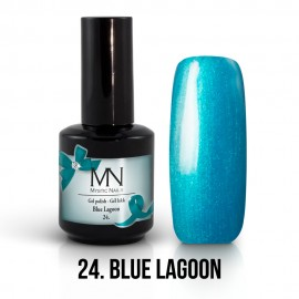 Gel Polish no.24. - Blue Lagoon 12 ml