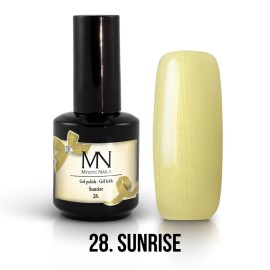 Gel Polish no.28. - Sunrise 12 ml