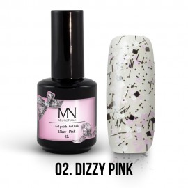 Gel Polish Dizzy no.02. - Dizzy Pink 12 ml