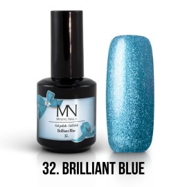 Gel Polish no.32. - Brillant Blue 12 ml