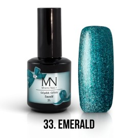 Gel Polish no.33. - Emerald 12 ml