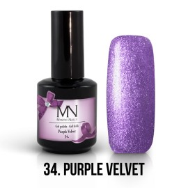 Gel Polish no.34. - Purple Velvet 12 ml