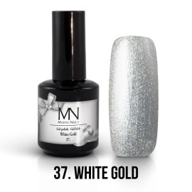 Gel Polish no.37. - White Gold 12 ml