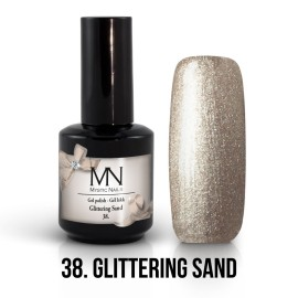 Gel Polish no.38. - Glittering Sand 12 ml