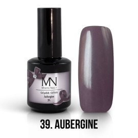 Gel Polish no.39. - Aubergine 12 ml