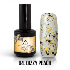 Gel Polish Dizzy no.04. - Dizzy Peach 8 ml