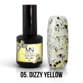 Gel Polish Dizzy no.05. - Dizzy Yellow 12 ml