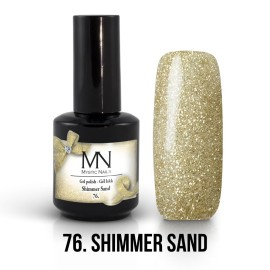 Gel Polish no.76. - Shimmer Sand 12 ml
