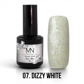 Gel Polish Dizzy no.07. - Dizzy White 12 ml