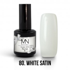 Gel Polish no.80. - White Satin 12 ml