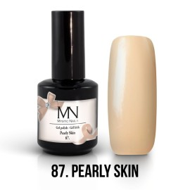 Gel Polish no.87. -  Pearly Skin 12 ml