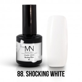 Gel Polish no.88. -  Shocking White 12ml